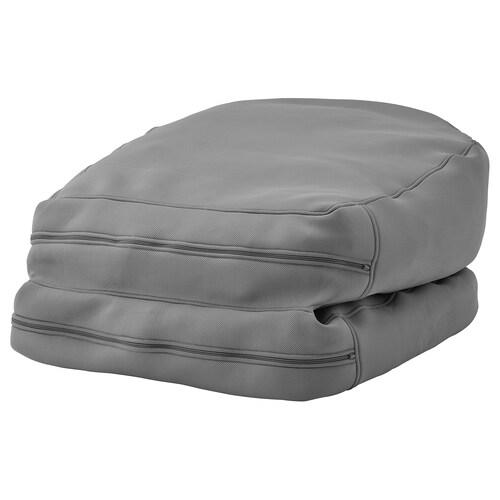BUSSAN puf para interior o exterior gris 94 cm 187 cm 67 cm 20 cm 70 cm 2670 g 4500 g