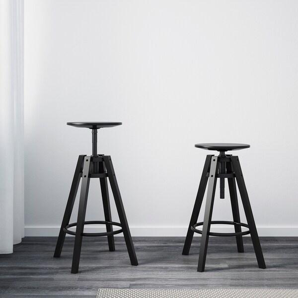 DALFRED taburete alto negro 100 kg 30 cm 50 cm 50 cm 63 cm 74 cm