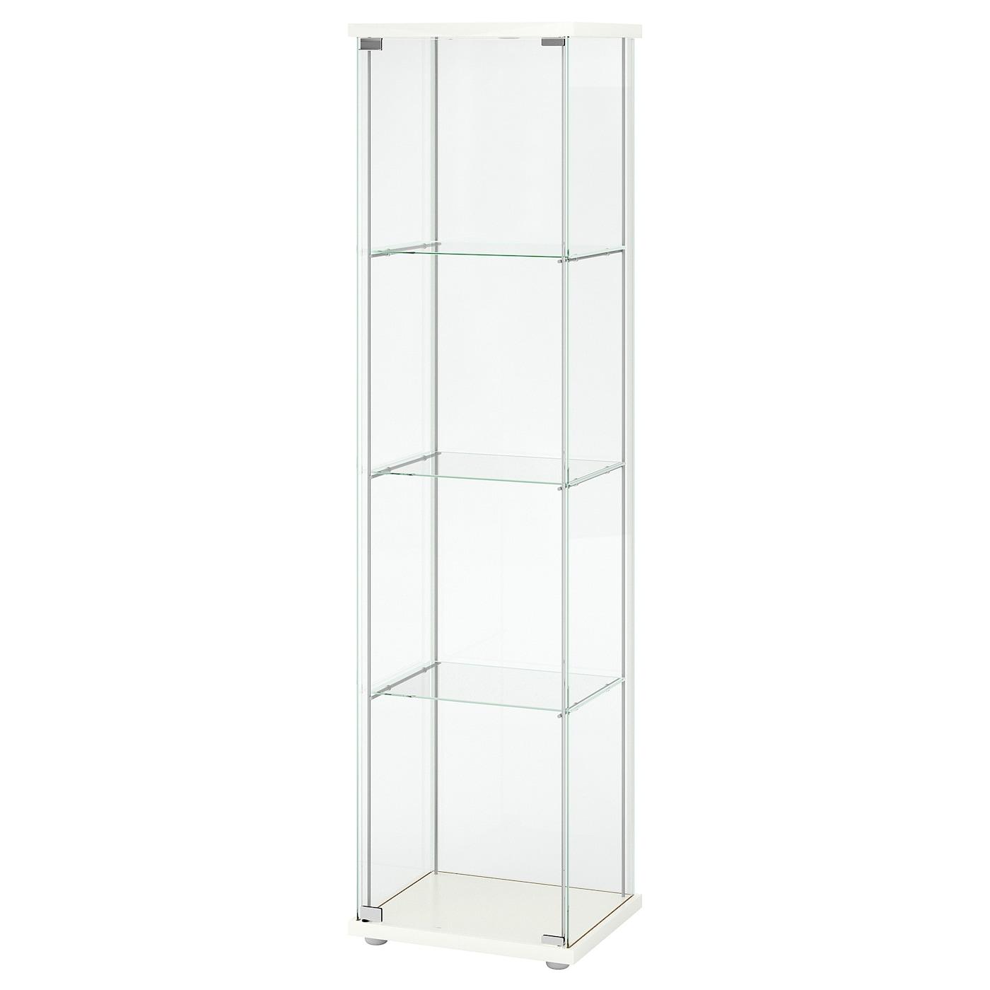 Detolf vitrina blanco 43 x 163 cm ikea - Vitrina detolf ...