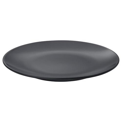 DINERA plato gris oscuro 20 cm