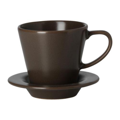 dinera taza de caf con platillo ikea
