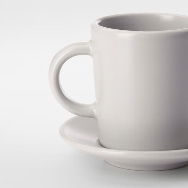 DINERA Taza/plato espresso, beige, 9 cl