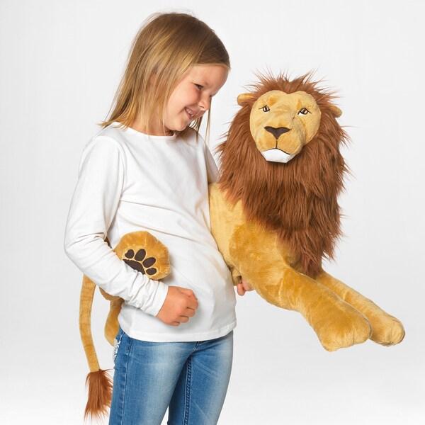DJUNGELSKOG Peluche, león
