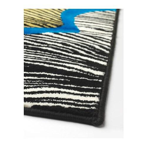 Doftranka alfombra pelo corto ikea for Ikea alfombra azul