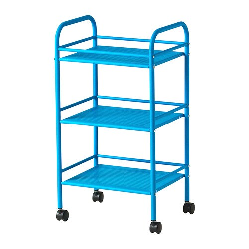 Draggan carrito azul ikea - Carrito con ruedas ikea ...