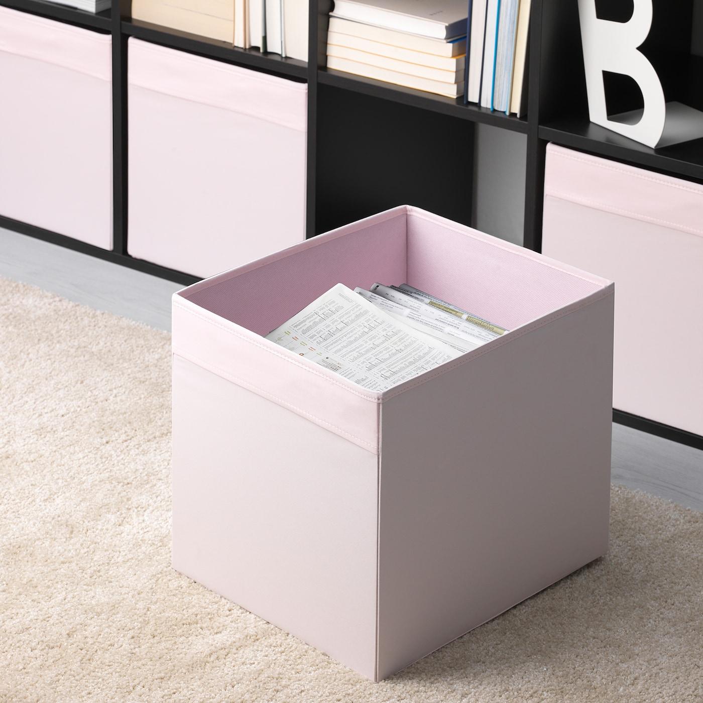 DRÖNA Caja, rosa claro, 33x38x33 cm IKEA