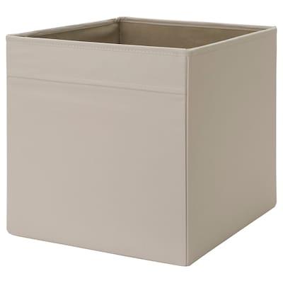 DRÖNA Caja, beige, 33x38x33 cm