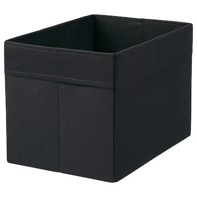DRÖNA Caja, negro, 25x35x25 cm