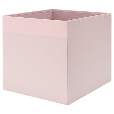 DRÖNA Caja, rosa claro, 33x38x33 cm