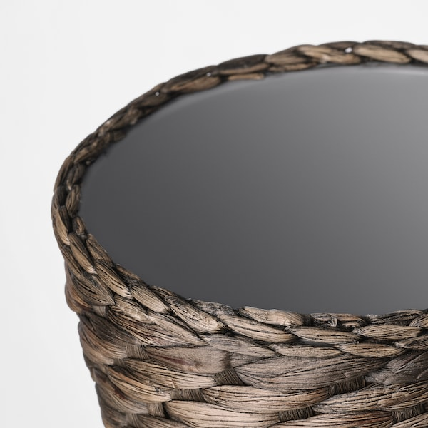 DRUVFLÄDER Macetero, jacinto de agua/gris, 12 cm