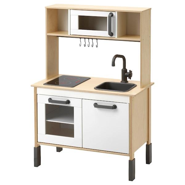 DUKTIG Cocina mini, abedul, 72x40x109 cm