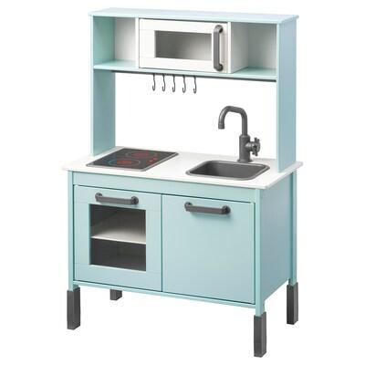 DUKTIG Cocina mini, turquesa claro, 72x40x109 cm