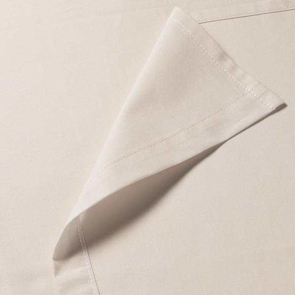 DVALA Sábana, beige, 240x260 cm