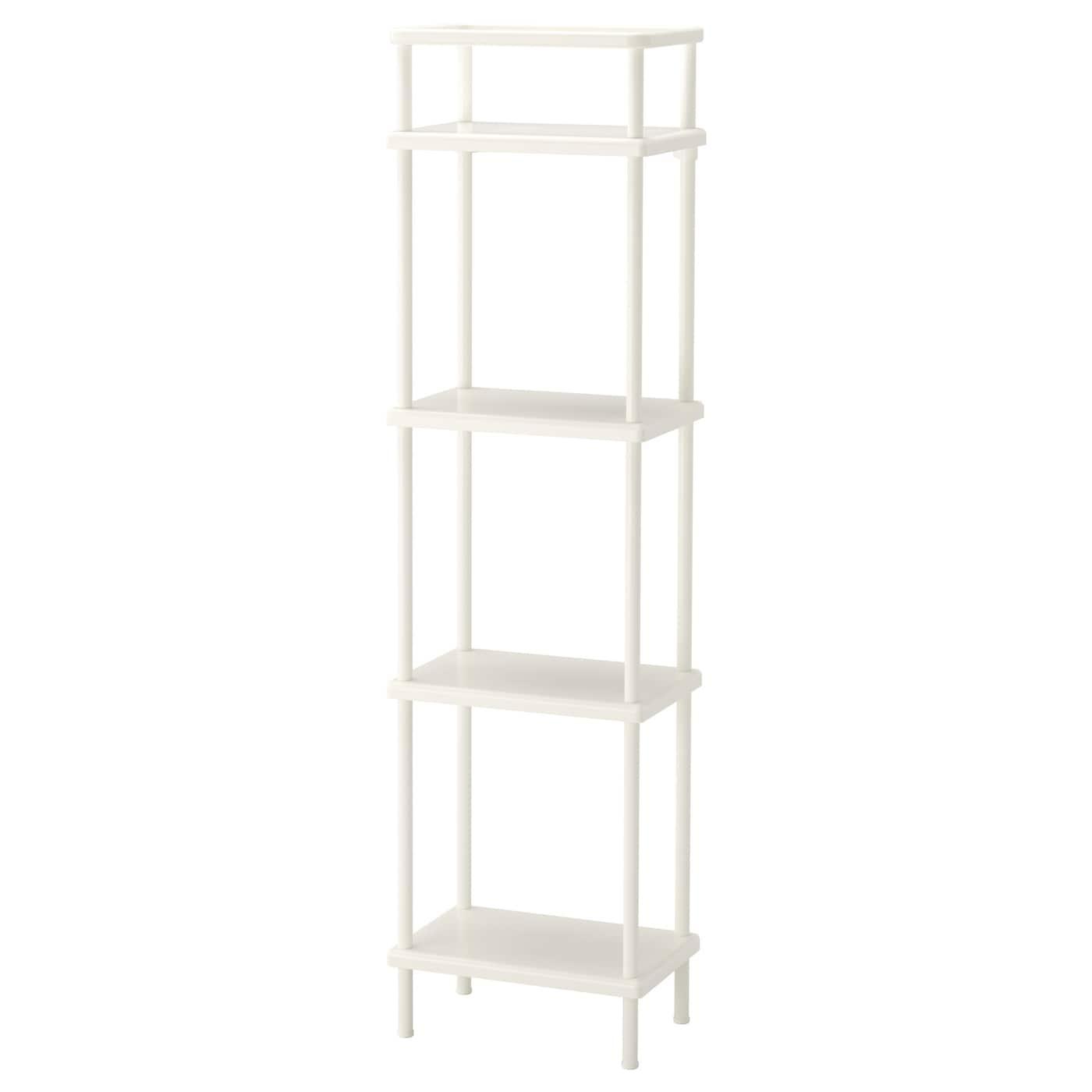 Dynan Estanteria Blanco 40 X 27 X 148 Cm Ikea