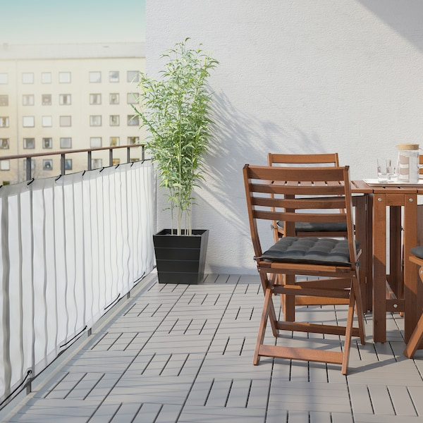 IKEA DYNING Pantalla privacidad para balcón