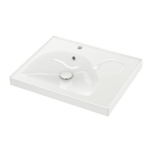 Edeboviken lavabo 1seno grande 60x49x6 cm ikea - Lavabo en catalan ...