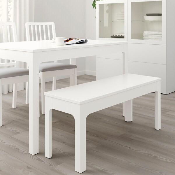 EKEDALEN banco blanco 105 cm 36 cm 45 cm