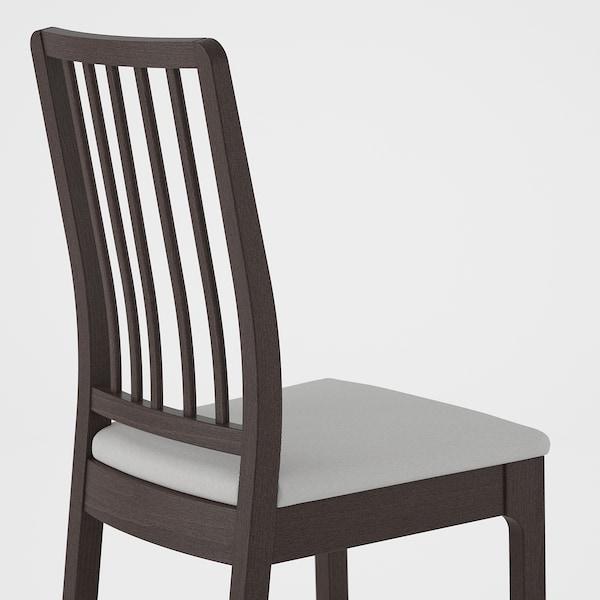 EKEDALEN silla marrón oscuro/Orrsta gris claro 110 kg 45 cm 51 cm 95 cm 45 cm 39 cm 48 cm