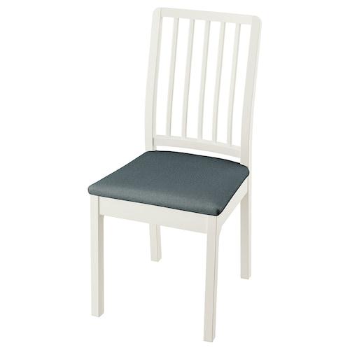 EKEDALEN silla blanco/Idekulla azul 110 kg 43 cm 51 cm 95 cm 43 cm 41 cm 46 cm