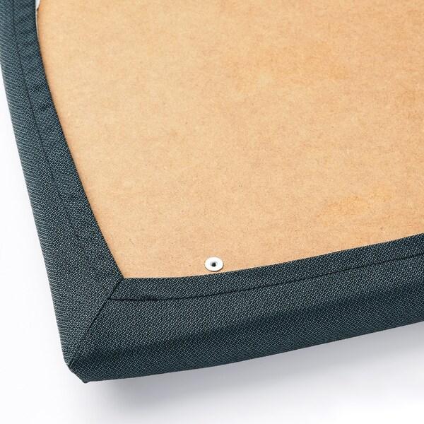 EKEDALEN silla marrón oscuro/Idekulla azul 110 kg 43 cm 51 cm 95 cm 43 cm 41 cm 46 cm