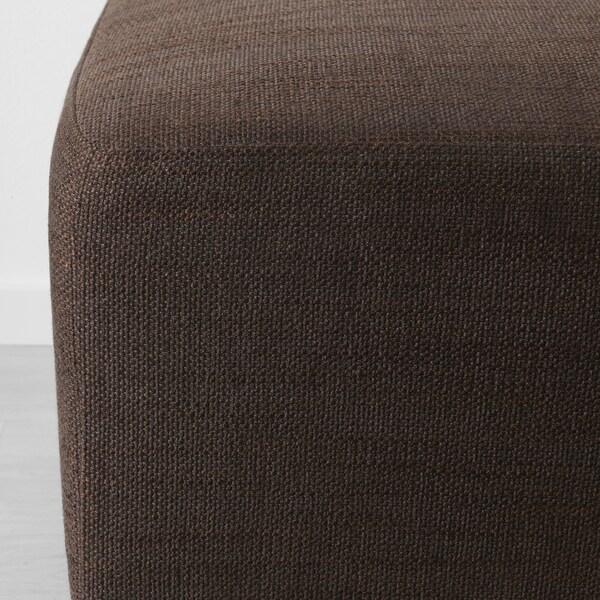 EKENÄS reposapiés Hensta marrón oscuro 53 cm 53 cm 40 cm