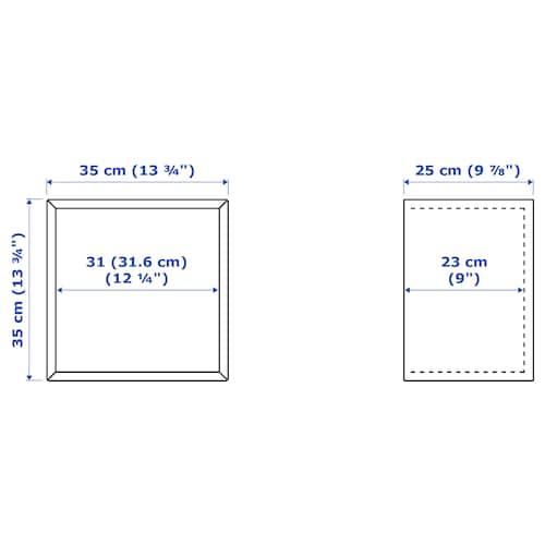 EKET Armario, blanco, 35x25 cm, Altura: 35 cm IKEA