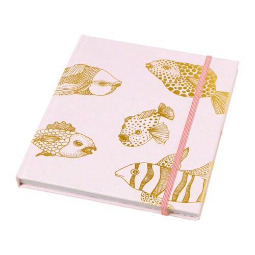 EKLOG - Cuaderno, rosa, dorado