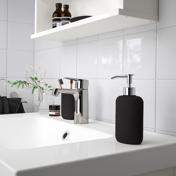 EKOLN Dispensador jabón, gris oscuro