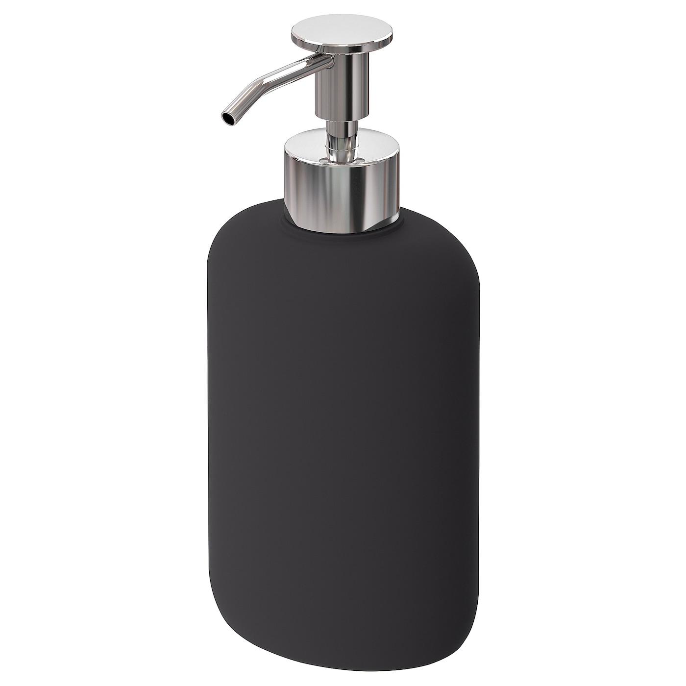 EKOLN Dispensador jabón gris oscuro