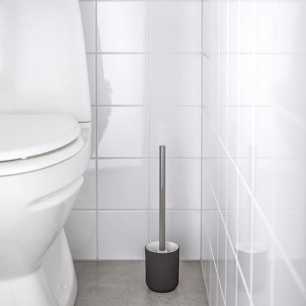 EKOLN Escobilla de baño/WC, gris oscuro