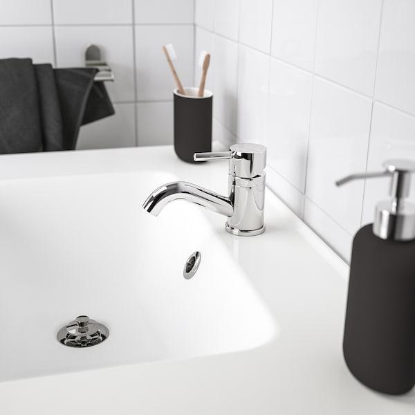 EKOLN dispensador jabón gris oscuro 18 cm 300 ml