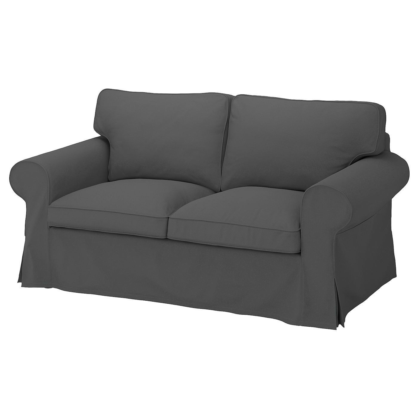 EKTORP Sofá 2 plazas - Hallarp gris - IKEA