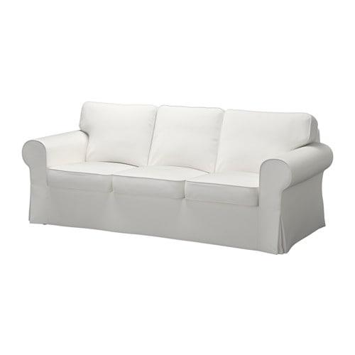 Ektorp funda para sof de 3 plazas vittaryd blanco ikea - Fundas de sofa de ikea ...