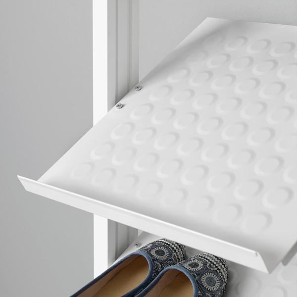 ELVARLI Combinación armario, blanco, 52x36x222-350 cm
