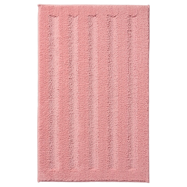EMTEN Alfombrilla de baño, rosa claro, 50x80 cm