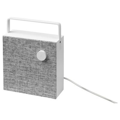 ENEBY Altavoz Bluetooth, blanco, 20x20 cm