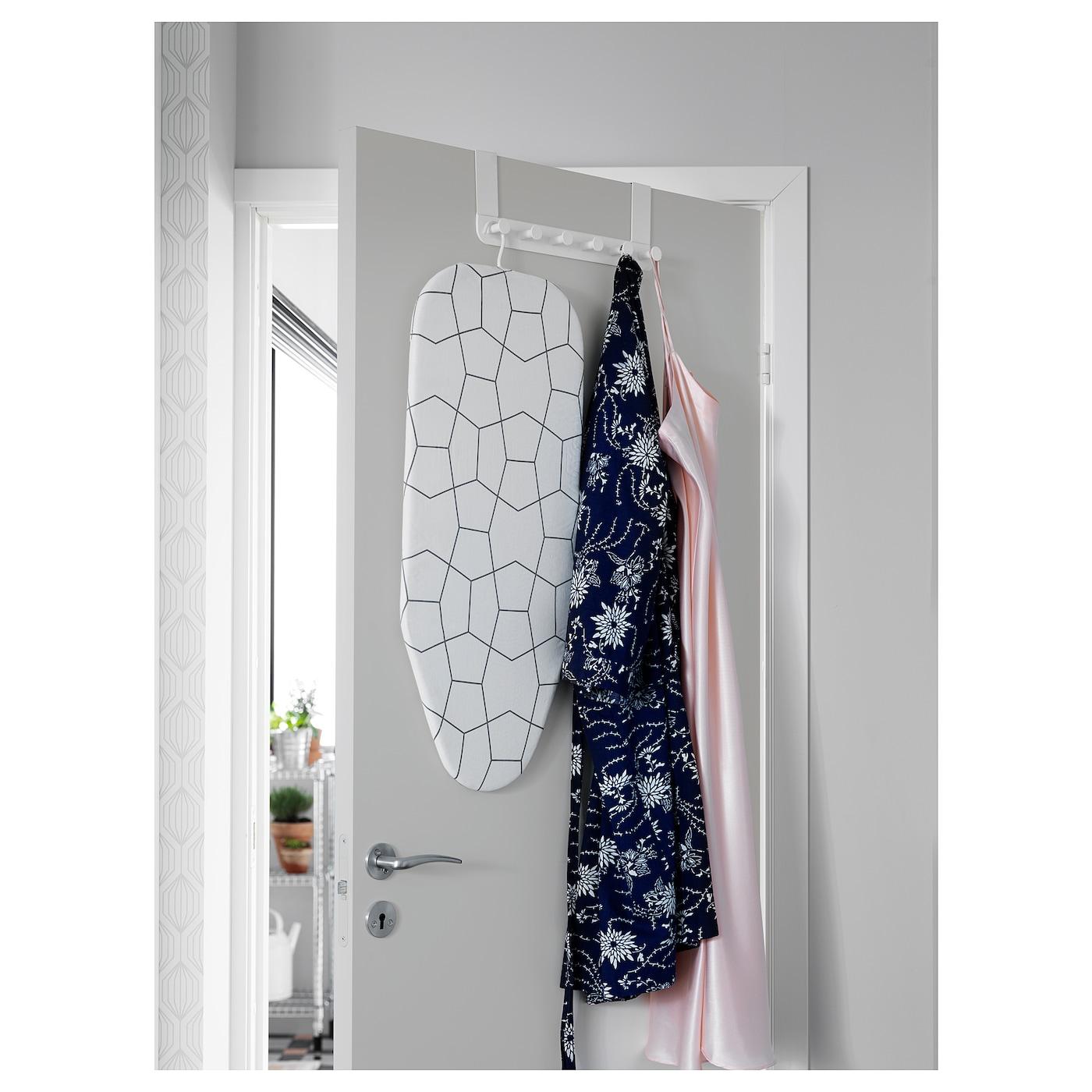 IKEA ENUDDEN Perchero para Puerta Blanco