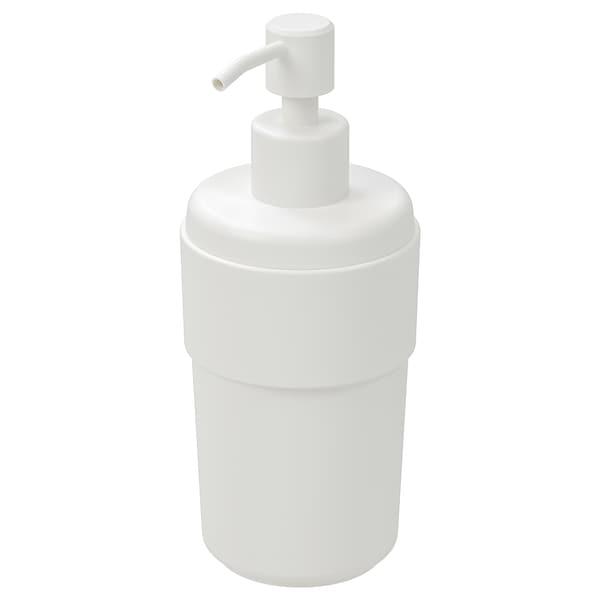 ENUDDEN dispensador jabón blanco 18 cm 8 cm