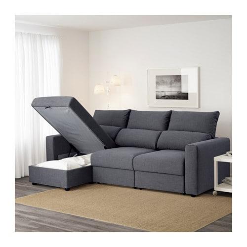 ESKILSTUNA Sofá 3 con chaiselongue IKEA