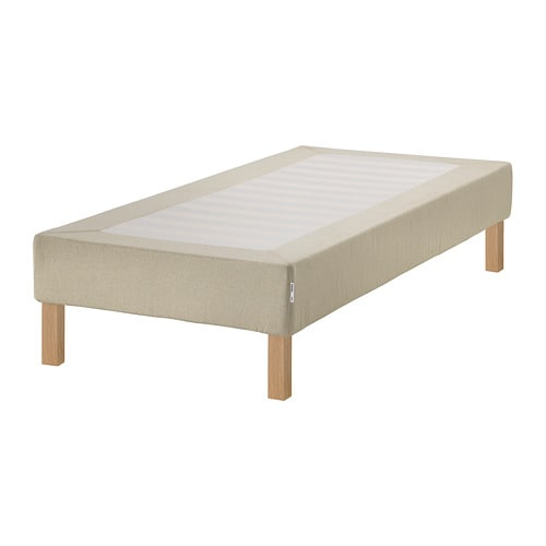 espev r somier tablillas patas 90x200 cm burfjord 20. Black Bedroom Furniture Sets. Home Design Ideas