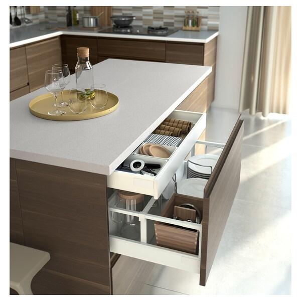 EXCEPTIONELL Cajón bajo, blanco, 80x60 cm