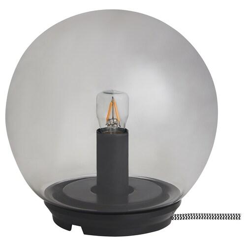 FADO lámpara de mesa gris 7 W 17 cm 17 cm 1.9 m