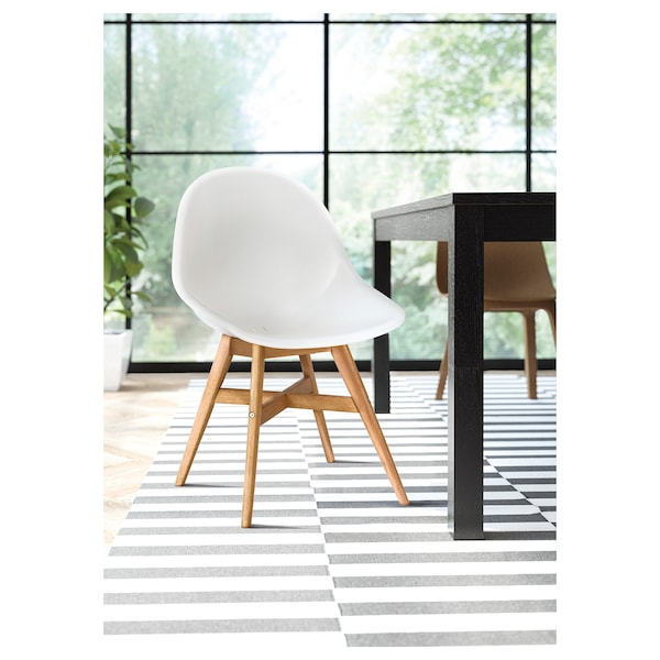 Fanbyn Silla Blanco Ikea