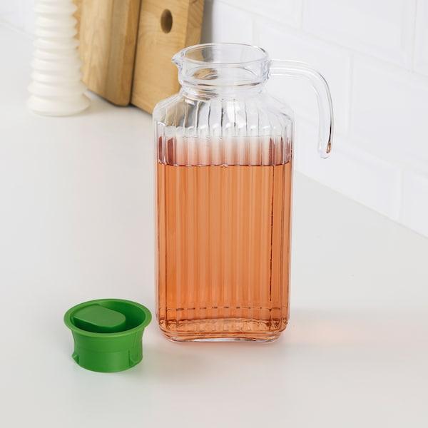 FARLIG jarra con tapa vidrio incoloro 1.7 l
