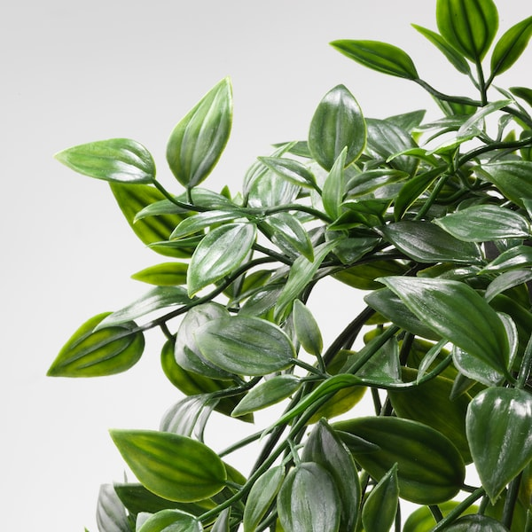 FEJKA Planta artificial, int/ext/colgante, 9 cm