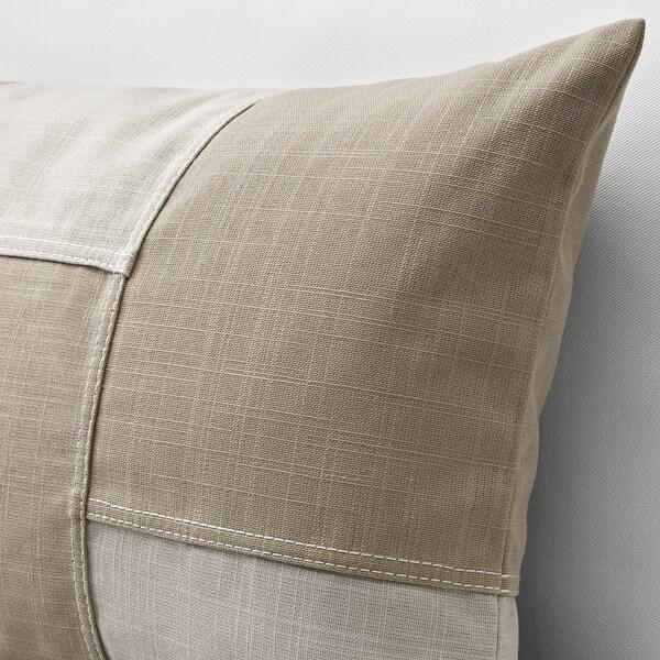 FESTHOLMEN Funda de cojín, int/ext/beige claro beige, 40x65 cm