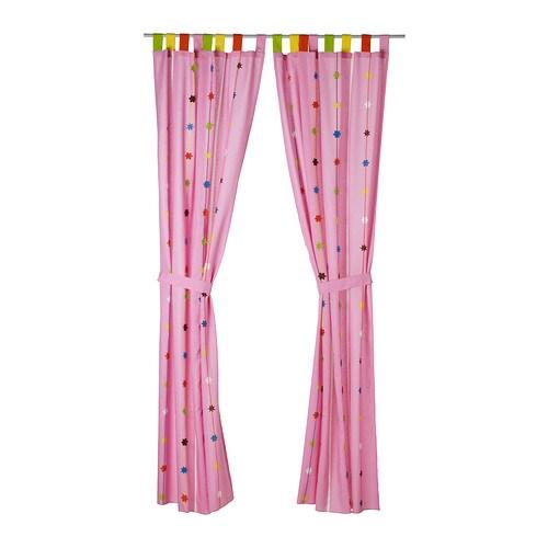 Festlig cortina con alzapa os ikea - Alzapanos para cortinas ...
