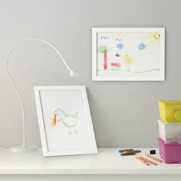 FISKBO Marco, blanco, 21x30 cm IKEA