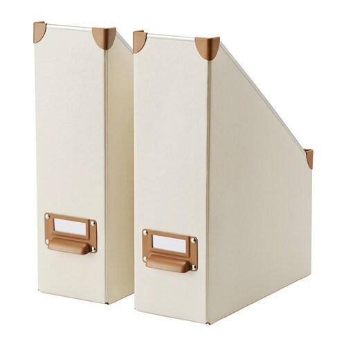 FJÄLLA Archivador, 2 uds. 10x26x32 cm. hueso - Últimas unidades en IKEA Barakaldo