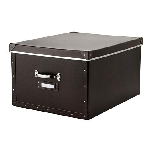FJÄLLA Caja con tapa, marrón - Últimas unidades en IKEA L'Hospitalet